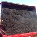 Compost Loading Topdresser